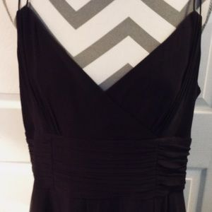 Ann Taylor Brown Lined Cocktail Dress SZ 16
